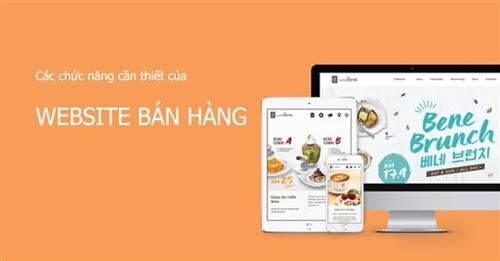 Trang web bán hàng