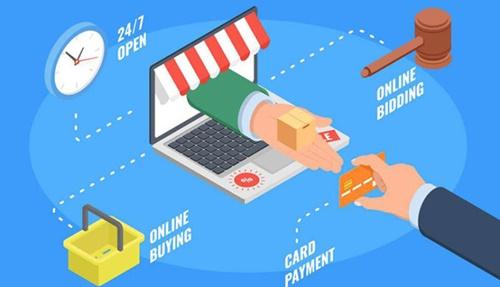 mua sắm trực tuyến