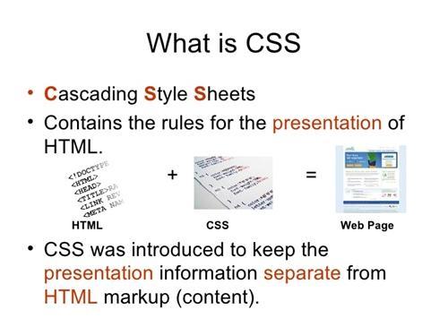 CSS là gì