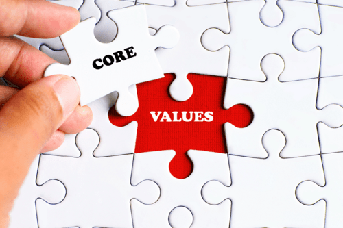giá trị cốt lõi