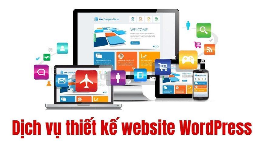 dịch vụ thiết kế website wordpress