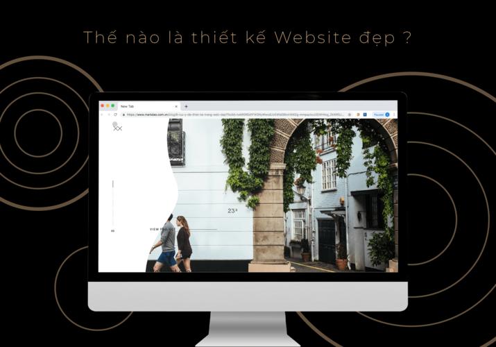 thiết kế trang web đẹp