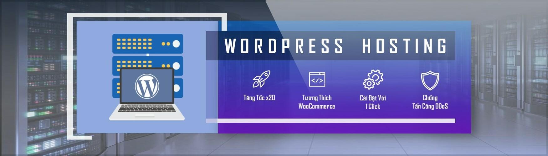 wordpress hosting là gì