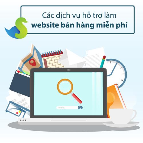 tạo web bán hàng