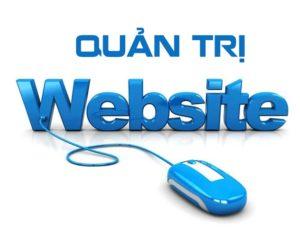khóa học quản trị website