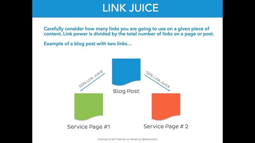 link juice là gì