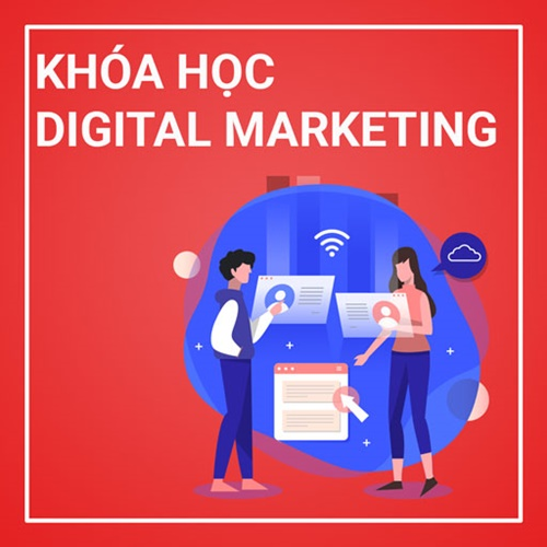 lớp học digital marketing