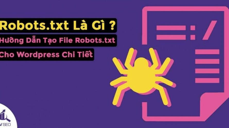 tạo file robots.txt cho wordpress