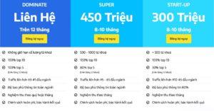 bang gia SEO website