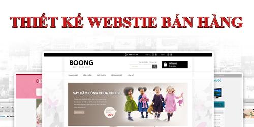 làm trang Web bán hàng