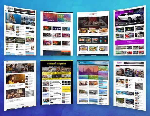 thiết kế Web tin tức bằng WordPress