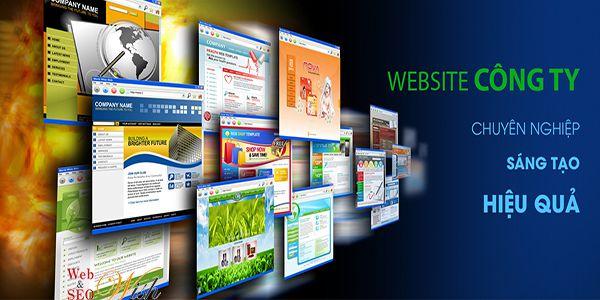 thiết kế website đơn giản