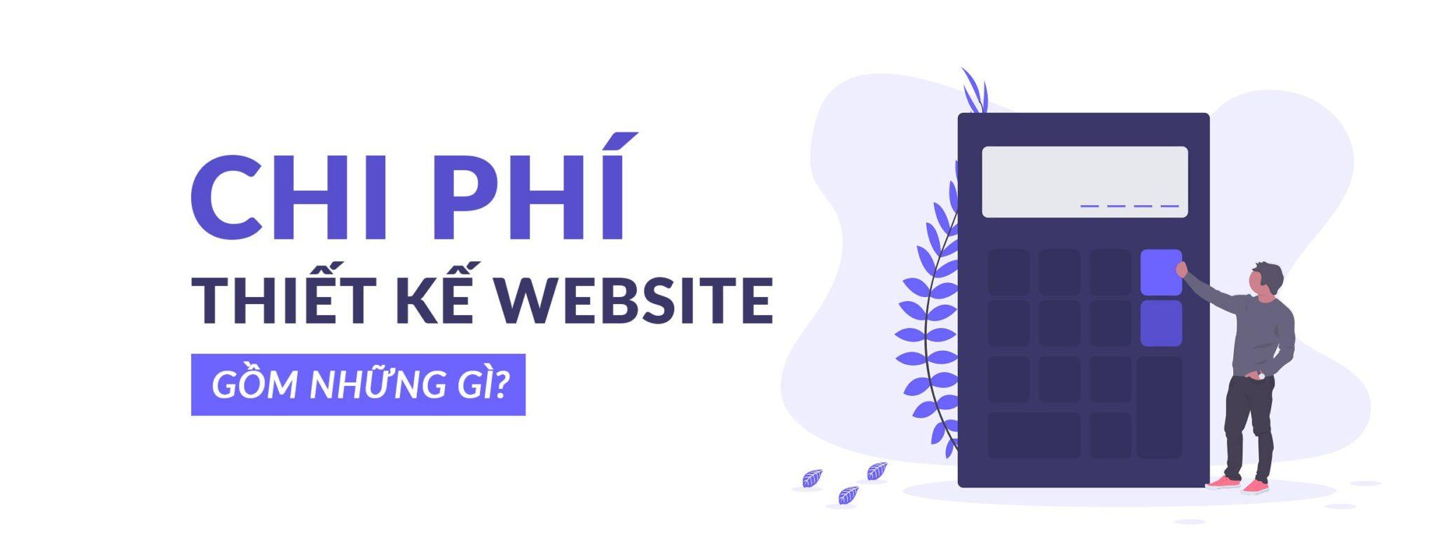 thiết kế website hết bao nhiêu tiền