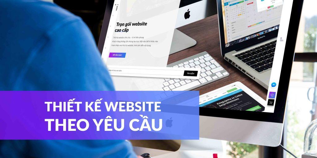 thiết kế website theo yêu cầu là gì