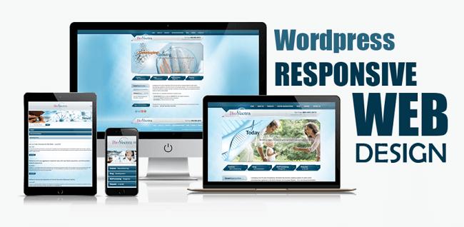 thiết kế website wordpress đẹp