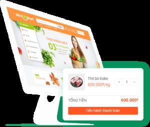 tạo Web bán hàng online