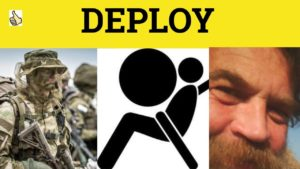 deploy meaning