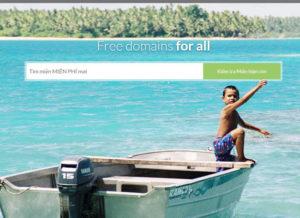 đăng ký tên miền com miễn phí
