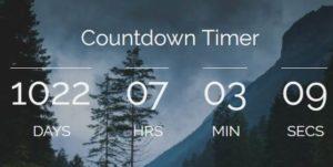 đếm ngược thời gian