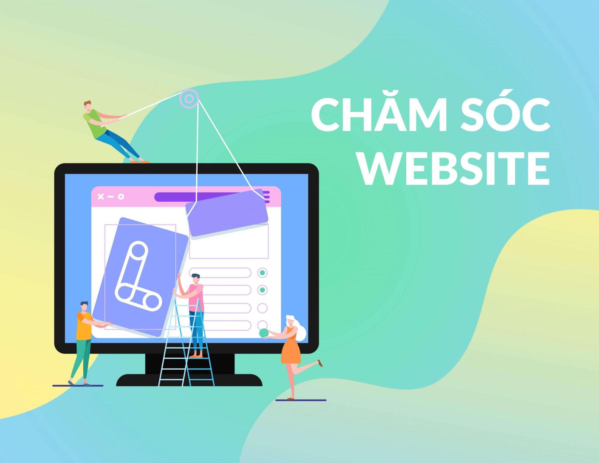 dịch vụ chăm sóc website