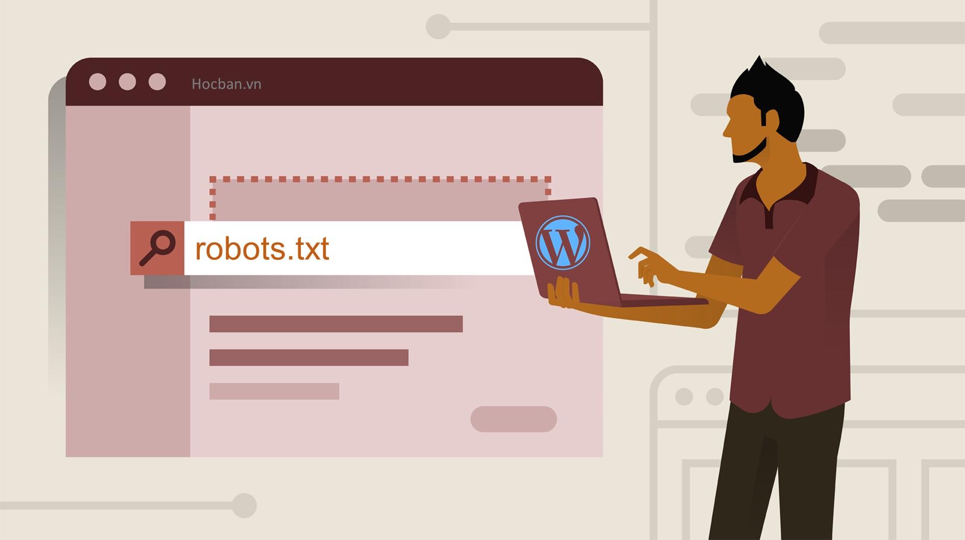 file robots.txt chuẩn cho wordpress