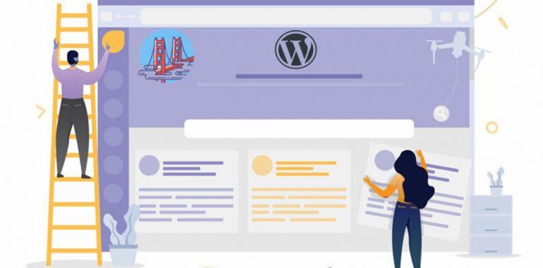 học làm web bằng wordpress