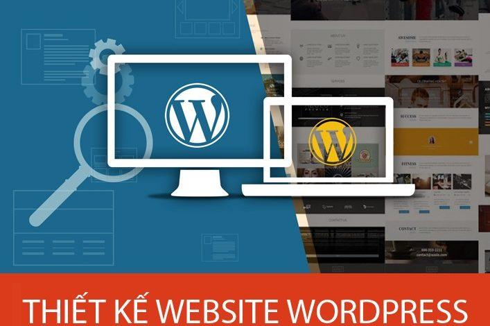 làm website bằng wordpress