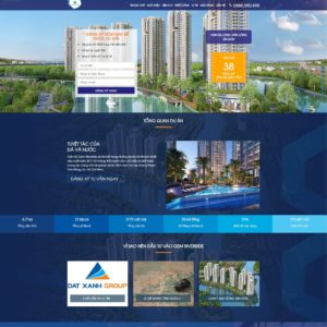 landing page bất động sản