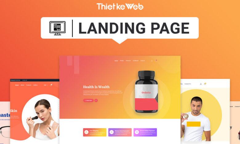Landing Page mẫu