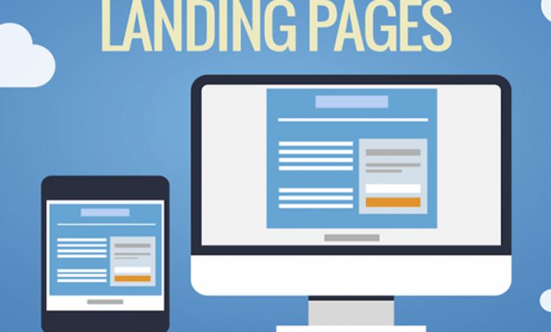 landing page wordpress
