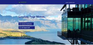 mẫu landing page