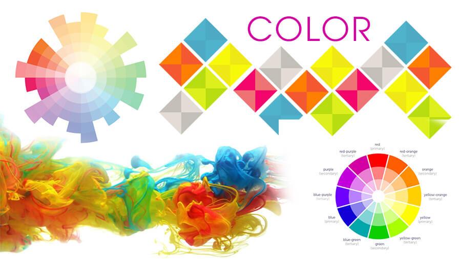 màu sắc trong thiết kế