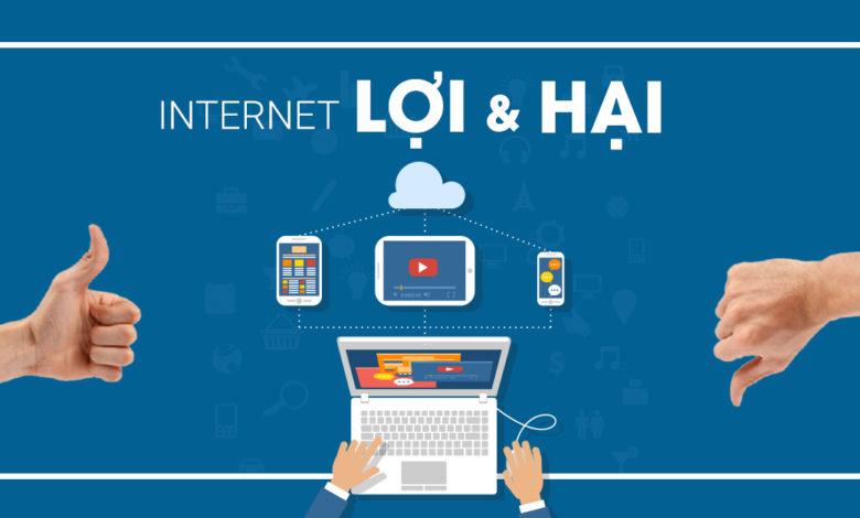 lợi ích của internet