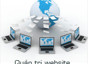 quản trị trang web