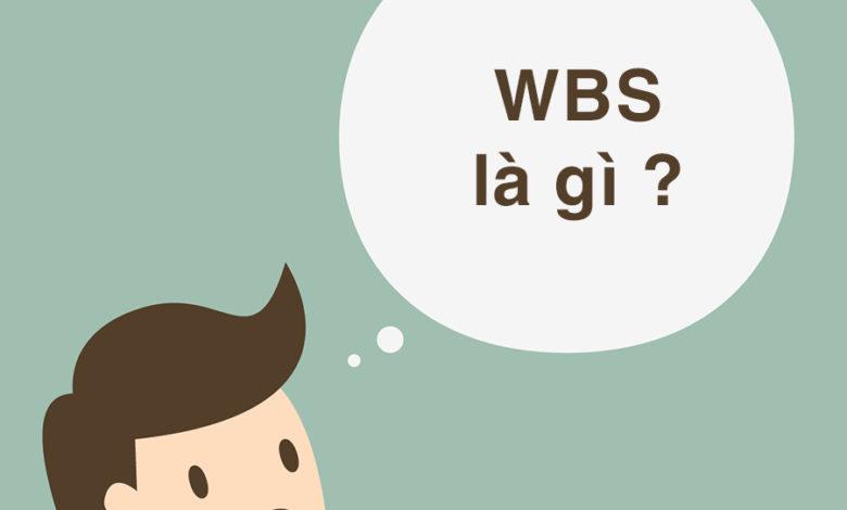 wbs là gì