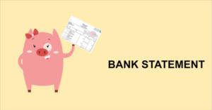 bank statement la gi