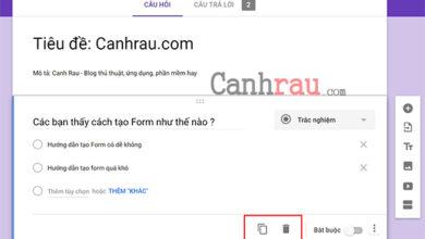 cach tao google form chuyen nghiep